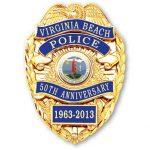 50th Anniversary Commemorative Badge
